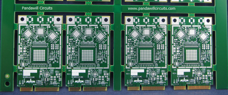 Immersion Silver PCB made by Pandawill Circuits